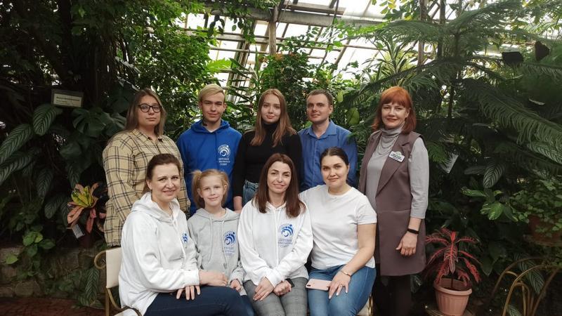 Детский общественный совет в гостях у Ботанического сада
