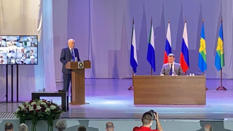 Расширенное заседание Правительства Хабаровского края в Амурске